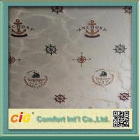 China Modern Home Decor Wallpaper Polyester Jacquard Fabric Seamless on sale