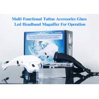 China Interchangeable Lenses Led Headband Magnifier Various Magnification Glasses on sale