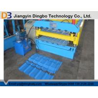 Double Layer Roll Forming With Machine Colored Steel Sheet And Galvanized Steel Sheet