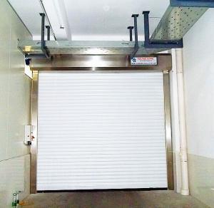 China 2.0mm Frame High Speed Roller Door , Industrial Security Door on sale