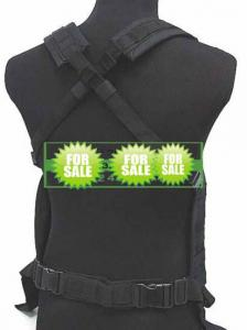 Quality Black Swat Tactical Gear Militray vest AK-47 Bellyband Clip Bag for sale