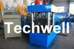 Rollo del canal U que forma la máquina para la correa de acero de U, sección de U, perfil de U, canal U