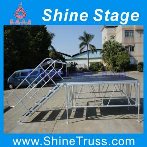 China 4x8ft aluminum smart truss stage on sale