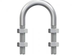 China U Shape Bolt And Nut Assembly , Zinc Plated Galvanized Metal Hardware on sale