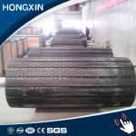 High wear resistant 15 mm thickness conveyor pulley slide lagging rubber sheet supplier