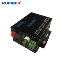 1 positive video+1 return data Fiber Optical Video Converter 1V1D Digital video fiber optical