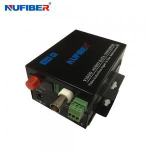 China 1 positive video+1 return data Fiber Optical Video Converter 1V1D Digital video fiber optical on sale