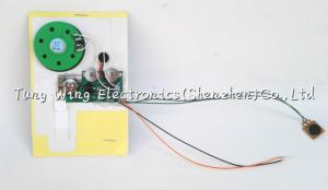 China Custom Voice Greeting Card Sound Module , recordable voice chip on sale