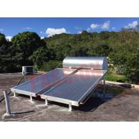 Simple Solar Hot Water Heater System Thermosyphon Blue Titanium Solar Collector
