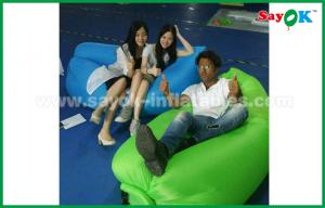 China Comfortable Nylon Fabric Lazy Inflatable Airbag Hangout Pop Up Sofa on sale