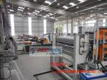 Multi Layer Plastic Roofing Sheet Machine / Plastic Tile Extrusion Line