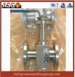 China 1-pc Manul Flange Ansi 150# F304 Metal Seal Floating Ball Valve- Ball Valve-Valve-ASG wholesale