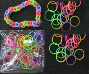 China 2013 Newest DIY Silicone Bandz Bracelet DIY Silicone Bandz Bracelet on sale
