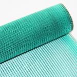 Sunscreen Breathable PVC Mesh Fabric , Custom Length Mesh Netting Fabric