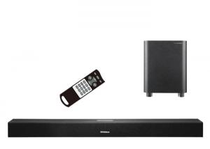 China Home Theatre Soundbar With Wireless Subwoofer Powerful Surround Sound on sale