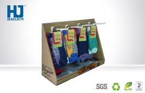 China Sock Cardboard Counter Display Boxes For Retail Stores / Grocery / Supermarket on sale