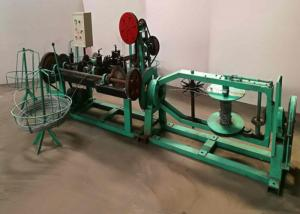 China 2.0mm Single Barbed Razor Wire Making Machine , Galvanized Razor Barbed Wire Machine on sale