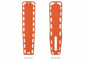 China Ambulance Emergency Multifunctional spine Board Stretcher Plastic Blow Moulding Ambulance Stretcher on sale