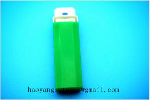 China Blood sugar testing 26G green color safety blood lancets PA type on sale