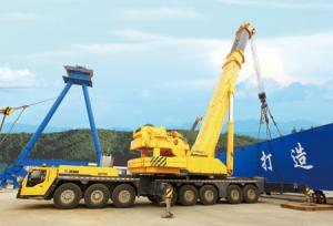China Durable All Terrian Crane QAY500 Hydraulic Mobile Crane With Digital Indicator on sale