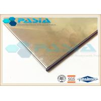 Stainless Steel Honeycomb Metal Sheet , Anti Corrosion Elevator Interior Panels