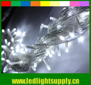 China Pretty rgb color changing led christmas lights wholesale 24v 100 led on sale