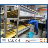 China Orange Juice Manufacturing Process Orange Processing Plant , Orange Juice Making Machine on sale