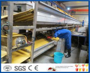 China Orange Juice Manufacturing Process Orange Processing Plant , Orange Juice Making Machine on sale