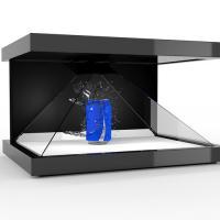 Customized  3D Holographic Pyramid Display Showcase Hologram Box