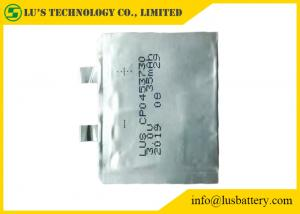 China CP0453730 Primary Lithium Battery 3V 35mah Ultra thin cell CP043730 35mah 3.0v lithium battery on sale