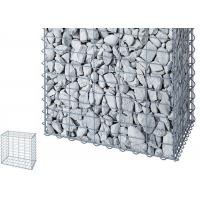 China Zinc Aluminum Galfan Gabion Baskets , Welded Wire Gabion Baskets Erosion Protection on sale