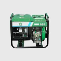 4.2KW 4.6KW Air Cooling Electric Start Portable Diesel Generator