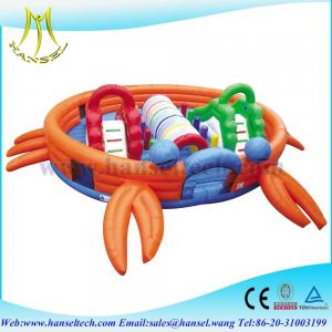 China Hansel amazing inflatable playground crab for sale in mall on sale