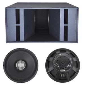 China double 18 inch sub bass /2000 watts sub woofer /concert sound sub /powerful bass system/stage sound  super bass system on sale