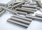 Nickel Alloy High Tensile Fasteners , UNS N06600 W.Nr.2.4816 Alloy 600 Threaded Rod Fasteners