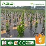 Anti UV Plastic woven weed barrier fabric for strawberry garden