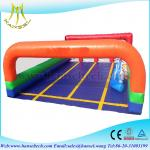 Hansel commercial inflatable racing game for kids inflatable field for children