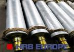 OEM Corrugated Machine Parts A B C D E Flute Corrugated Roller For Single Facer