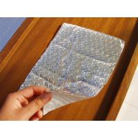 China Reflective aluminum foil double layer bubble window heat insulation wrap on sale