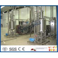 Soy Milk Fermentation Process, Industrial Yogurt Machine , Cheese Yogurt Making Equipment