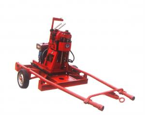 China Portable Trailer Mounted Mineral Exploration Drilling Rig (XY-100) on sale