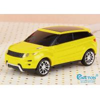 Cell Phone Yellow Land Rover Car Shaped Power Bank USB 18650 4400mAh