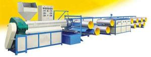China High Speed Plastic Flat Yarn Extrusion Line / PP Woven Sack Making Machine on sale