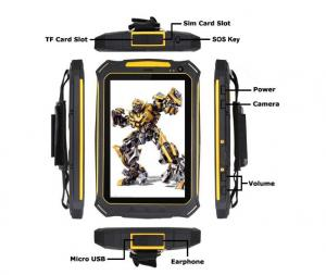 China 3G Android Tablet NFC Industrial PC Wildox Brand Rugged With SOS on sale