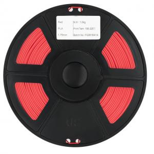 China Honplas  High Definition 1.75mm 1kg 3kg Red PLA Filament for 3D Printer on sale