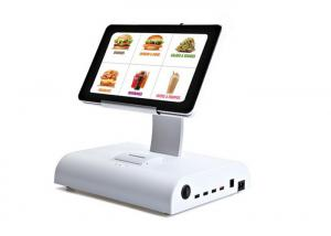 China Android Tablet Cash Register System , Windows PC Tablet POS With Software Support WIFI on sale
