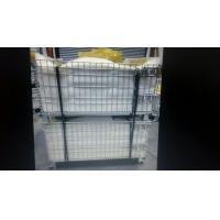 Customized Warehouse Logistics Equipment , Wire Mesh Baskets 50x50mm Grid