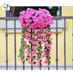 China UVG Artificial Wisteria Flower Decoration of Houses Interior Wedding Centerpieces Favor on sale