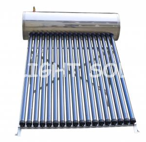 China 180 L Thermosiphon Solar Water Heater , Domestic Solar Thermal Heating System on sale
