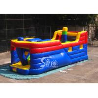 China Kids commercial pirate ship inflatable obstacle course for outdoor and indoor interactive fun on sale